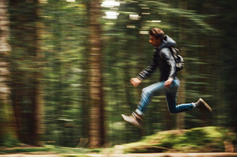 Weglaufen ist keine Lösung – Bleiben Sie stehen!