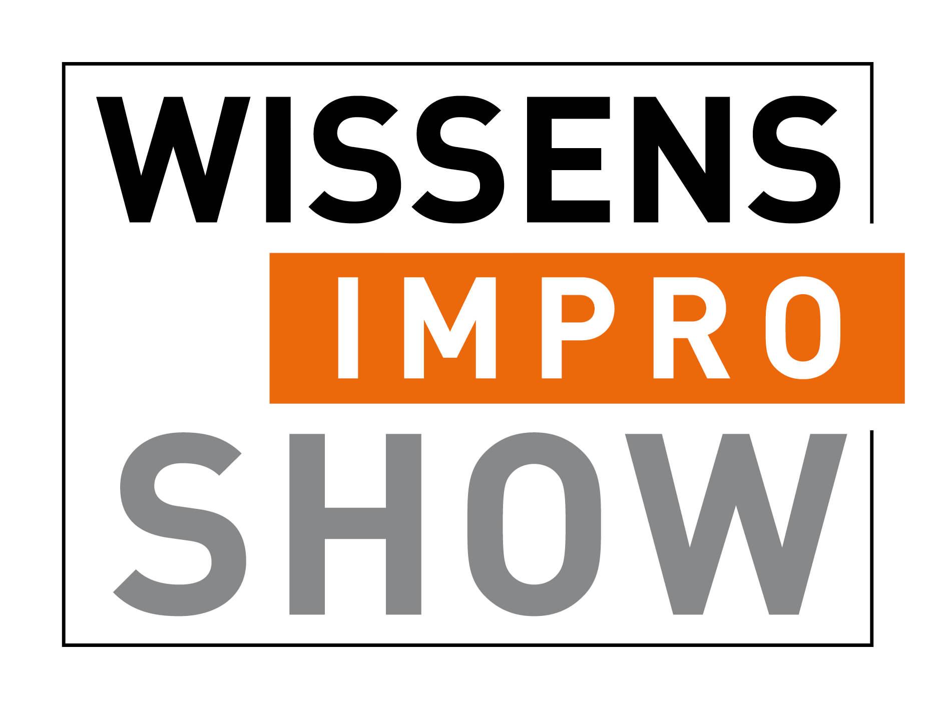 Logo der Wissens-Impro-Show