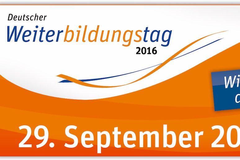 Kostenloses Webinar zum Deutschen Weiterbildungstag